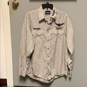 Wrangler work shirt